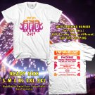 HITS LIVE 105'S BFD FESTIVAL JUN 2017 WHITE TEE'S 2SIDE MAN WOMEN ASTR