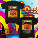 HITS MR. BIG NEW ALBUM DEFYING GRAVITYV TOUR 2017 BLACK TEE'S 2SIDE MAN WOMEN ASTR 332