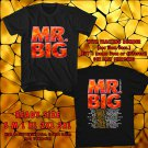 HITS MR. BIG NEW ALBUM DEFYING GRAVITYV TOUR 2017 BLACK TEE'S 2SIDE MAN WOMEN ASTR