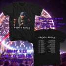 HITS PRINCE ROYCE FIVE TOUR 2017 BLACK TEE'S 2SIDE MAN WOMEN ASTR