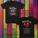 HITS STEPHEN PEARCY USA TOUR 2017 BLACK TEE'S 2SIDE MAN WOMEN ASTR 554