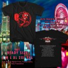 HITS STEPHEN PEARCY USA TOUR 2017 BLACK TEE'S 2SIDE MAN WOMEN ASTR 511