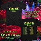 HITS SUBLIME WITH ROME N.AMERICA TOUR 2017 BLACK TEE'S 2SIDE MAN WOMEN ASTR 997