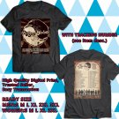 HITS THE MAGPIE SALUTE UNITED STATES TOUR 2017 BLACK TEE'S 2SIDE MAN WOMEN ASTR