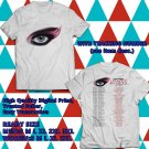 HITS KATY PERRY WITNESS TOUR 2017 WHITE TEE'S 2SIDE MAN WOMEN ASTR 889