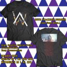 HITS ALAN WALKER WORLD SUMMER TOUR 2017 BLACK TEE'S 2SIDE MAN WOMEN ASTR