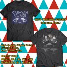 HITS CARAVAN PALACE SUMMER TOUR 2017 BLACK TEE'S 2SIDE MAN WOMEN ASTR 998