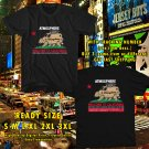 HITS ATMOSPHERE : WELCOME TO CALIFORNIA TOUR 2017 BLACK TEE'S 2SIDE MAN WOMEN ASTR 221