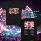 HITS MAKE AMERICA ROCK AGAIN TOUR 2017 BLACK TEE'S 2SIDE ASTR 332