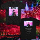 HITS ZEDD ECHO TOUR 2017 BLACK TEE'S 2SIDE MAN WOMEN ASTR 665