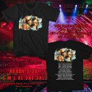 HITS GENTE DE ZONA TOUR 2017 BLACK TEE'S 2SIDE MAN WOMEN ASTR