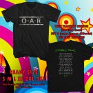 HITS O.A.R THE STOARIES TOUR 2017 BLACK TEE'S 2SIDE MAN WOMEN ASTR 700
