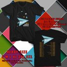 HITS BEN FOLDS PAPER AIRPLANE REQUEST TOUR 2017 BLACK TEE'S 2SIDE MAN WOMEN ASTR