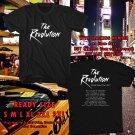 HITS THE REVOLUTION USA TOUR 2017 BLACK TEE'S 2SIDE MAN WOMEN ASTR 556
