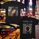 HITS TOVE LO LADY WOOD TOUR 2017 BLACK TEE'S 2SIDE MAN WOMEN ASTR