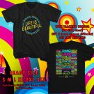 HITS LIFE IS BEAUTIFUL MUSIC FESTIVAL SEPT 2017 BLACK TEE'S 2SIDE MAN WOMEN ASTR