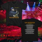 HITS VAN MORRISON LIVE IN CONCERT WORLD 2017 BLACK TEE'S 2SIDE MAN WOMEN ASTR 122