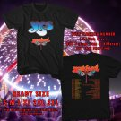 HITS YES YESTIVAL UNITED STATES TOUR 2017 BLACK TEE'S 2SIDE MAN WOMEN ASTR 500
