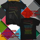 HITS BETWEEN THE BURIED AND ME COLORS TOUR 2017 BLACK TEE'S 2SIDE MAN WOMEN ASTR 909