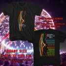HITS BETWEEN THE BURIED AND ME COLORS TOUR 2017 BLACK TEE'S 2SIDE MAN WOMEN ASTR 776