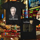 HITS TOM JONES LONG LOST SUITCASE TOUR 2017 BLACK TEE'S 2SIDE MAN WOMEN ASTR 990