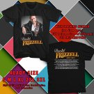 HITS DAVID FRIZZELL TOUR 2017 BLACK TEE'S 2SIDE MAN WOMEN ASTR