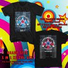 HITS THE PSYCHEDELIC FURS THE SINGLES WORLD TOUR 2017 BLACK TEE'S 2SIDE MAN WOMEN ASTR 600