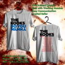 HITS THE KOOKS WORLD TOUR 2017 DO YOU WANNA WHITE TEE'S 2SIDE MAN WOMEN ASTR