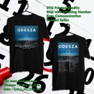 HITS ODESZA A MOMENT APART WORLD TOUR 2017 BLACK TEE'S 2SIDE MAN WOMEN ASTR 554