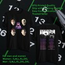 HITS FALL OUT BOY MANIA TOUR 2017 BLACK TEE'S 2SIDE MAN WOMEN ASTR