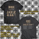 HITS JAY Z 4:44 TOUR 2017 BLACK TEE'S 2SIDE MAN WOMEN ASTR 887