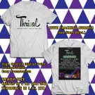 HITS THRIVAL MUSIC FESTIVAL ON SEPT 2017 WHITE TEE'S 2SIDE MAN WOMEN ASTR