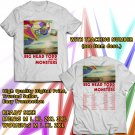 HITS BIG HEAD TODD AND THE MONSTERS WINTER TOUR 2017/2018 WHITE TEE'S 2SIDE MAN WOMEN ASTR