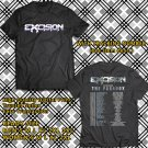 HITS EXCISION TOUR 2018 FEATURING THE PARADOX BLACK TEE'S 2SIDE MAN WOMEN ASTR 887