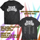 HITS LUKE COMBS DONT TEMPT ME WITH A GOOD TIME TOUR 2017 BLACK TEE'S 2SIDE MAN WOMEN ASTR 543