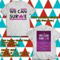 HITS WE CAN SURVIVE SHOW OCT 2017 WHITE TEE'S 2SIDE MAN WOMEN ASTR