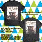 HITS SHOVELS AND ROPE USA TOUR 2018 BLACK TEE'S 2SIDE MAN WOMEN ASTR 887