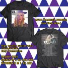 HITS ZZ WARD THE STORM TOUR 2018 BLACK TEE'S 2SIDE MAN WOMEN ASTR 887