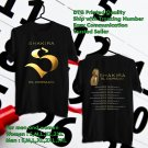 HITS SHAKIRA EL DORADO TOUR 2018 BLACK TEE'S 2SIDE MAN WOMEN ASTR 811