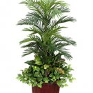 Artificial Areca Palm Tree With Mixed Foliage (4 Feets tall)