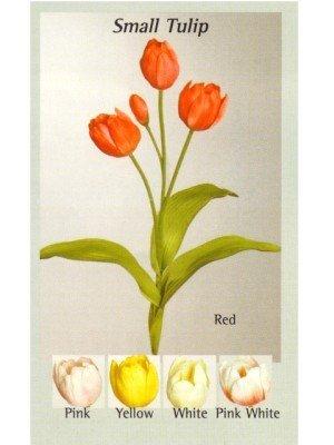 White Tulip Spray - 25 in