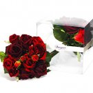 Small Red Rose Bouquet 10""