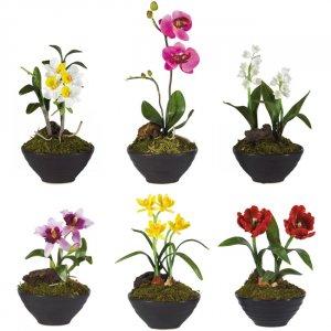 Little Black Vase Assortment (Set of 6)