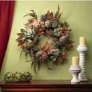 """24"""" Pumpkin & Gourd Wreath"""