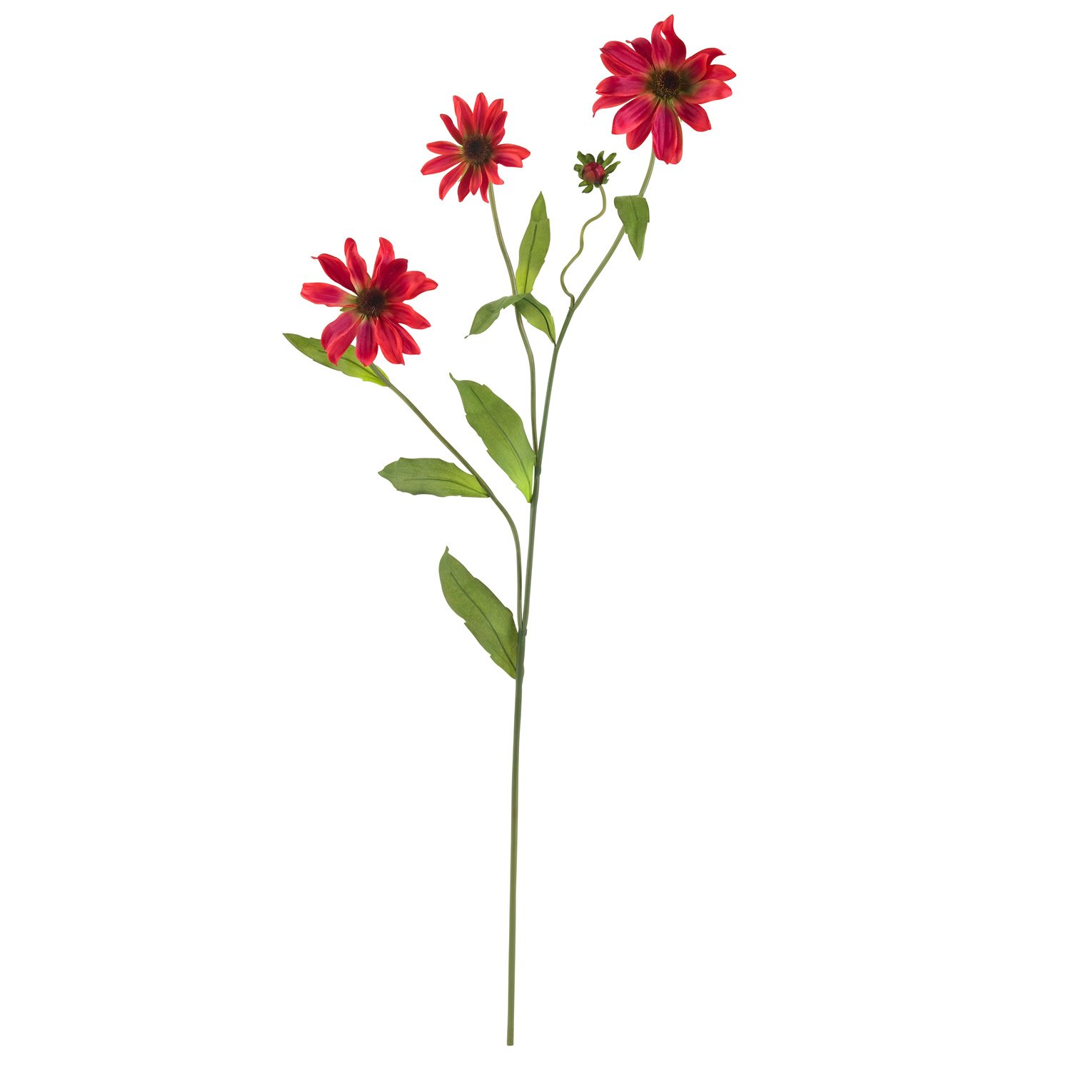 """28.5"""" Cosmo Stem (Set of 12) - Red"""