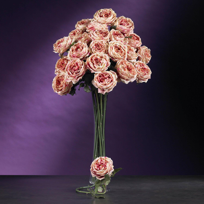 "31"" Large Rose Stem (Set of 12) - Pink"