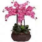 Large Phalaenopsis Silk Flower Arrangement - Dark Pink