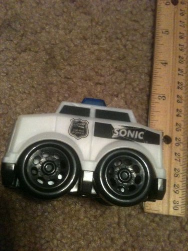 2010 Sonic KidsMeal Toy Hero Force Police Car Boys & Girls