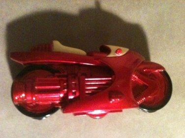 "Marvel Comic Book Action Figure Iron Man Motorcycle 4"" 2009"