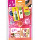 Orange Style Me Up! Sequin Stacker Girls Jewelry Maker Kit RG5-SM95